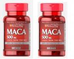 PACK MACA ANDINA 500mg 120 Capsulas (60X2)LIBIDO-FERTILIDAD