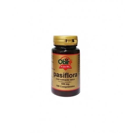 Pasiflora 500 mg Extracto seco 100 comprimidos OBIRE