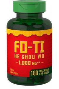 Raiz de Fo-Ti He-Shou-Wu 1000 mg 180 Cápsulas