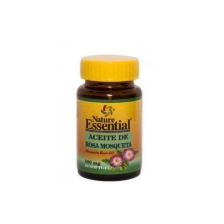 Aceite de Rosa Mosqueta 500 mg 50 Perlas Nature Essential