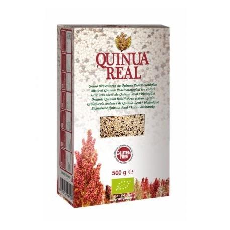 QUINOA REAL TRES COLORES GRANO BIO 500GR QUINUA REAL