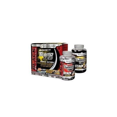 Termotec Black Platinum Pack 2 Stack 120 capsulas