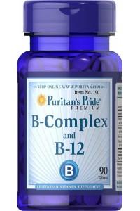 VITAMINA B12 Y B COMPLEX  90 COMPRIMIDOS MEMORIA Y ANSIEDAD