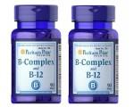 PACK VITAMINA B12 Y B COMPLEX  180 COMPRIMIDOS (90X2) MEMORIA Y ANSIEDAD